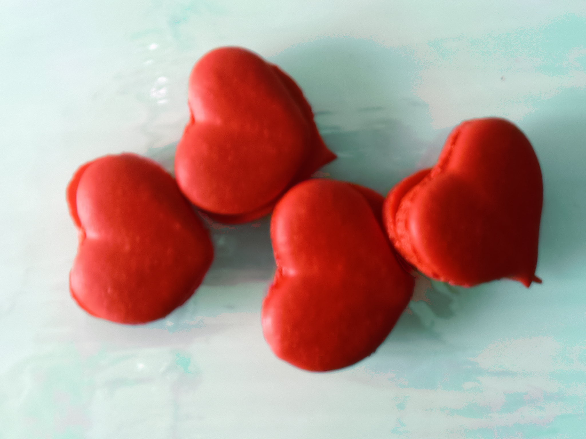 French Macarons With A Twist Just For Valentineu0027s Day. Sweet Confectionery  Will Be Selling Heart Shaped Macarons For Those Looking For The Perfect  Gift For ...